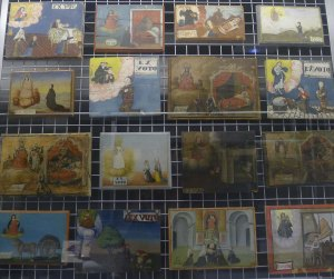 Col·lecció d'ex-vots pintats.