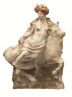 Estatueta del rapte d'Europa. S IV aC. Aallard Pierson Museum.