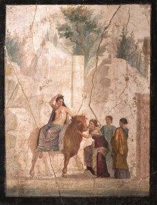 Europa i el brau. 25-45 dC. Museo Archeologico Napoli.