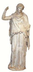 Irene. S I dC . Còpia d'un original en bronze de 375-370 aC. Museo Territoriale della Sabina.