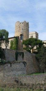 Torre del castell  de Ribes.