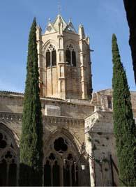 Campanar del monestir de Vallbona de les Monges.