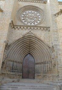 Portalada de Santa Maria la Major.
