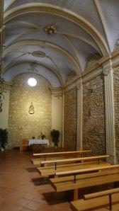 Interior de la capella del Socós.