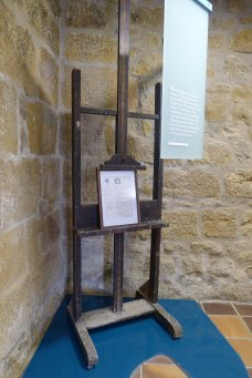 Caballet de  Llotja utilitzat per Picasso.