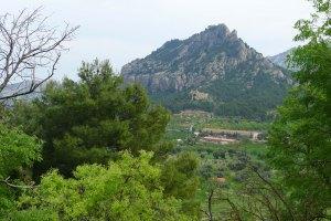 Muntanya de Santa Bàrbara.