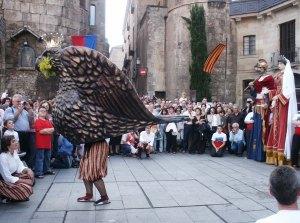Ball de l'Àliga de la Ciutat. 2005. Foto: Xavier Cordomí- Arxiu AFPN.