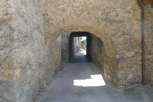 Un carrer de Llimiana.