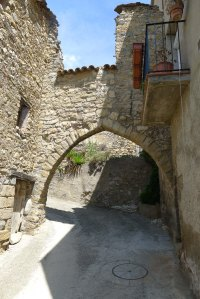 Porta de la muralla medieval.