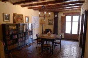 Sala de la casa-museu Bonifaci.