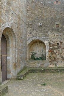Arcosoli de la tomba dels Rocasalva.