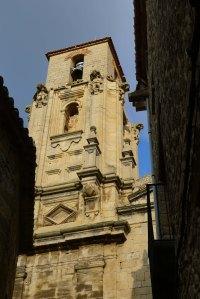 Torre-campanar de l'església.