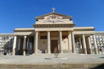 Església del cementiri. Arquitecte Antonio Ginesi.