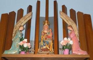 Imatge actual de la Mare de Déu del Coll.