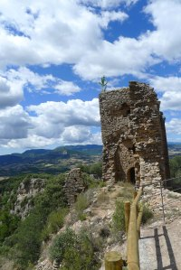 Restes de Sant Sadurní.