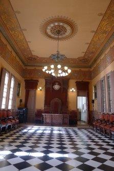 La sala d'actes.