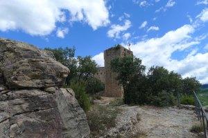 Torre de la muralla i palau.