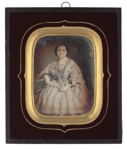 Retrat de dona,1842-1860. AFB.
