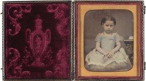 Retrat de nena, 1842-1860. AFB.