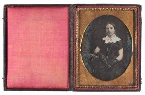 Retrat de dona, 1842-1860.AFB. E.