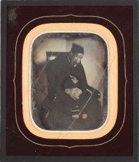 Retrat d'home, 1850-1855. AFB. P
