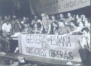 Assemblea a Barcelona juliol 1976.