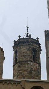 Campanar del segle XVIII.
