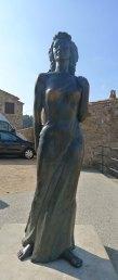 Monument a Ava Gardner.