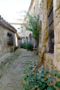 Un carrer de la Vila Vella.