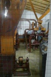 Maquinària de la farinera.