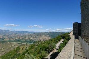 Vista panoràmica des del castell.