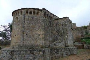 Absis de Sant Joan de Bedenga.