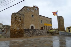 Castell-palau de Bellcaire d'Empordà.