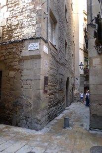 Ctuilla dels carrers de Sant Domènec del Call i Marlet.
