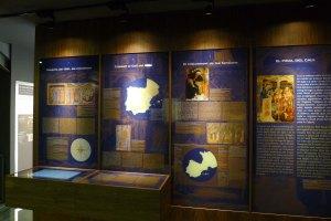 Plafons de l'exposició.