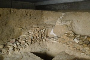 Restes arqueològiques al Centre Sant Domènec.