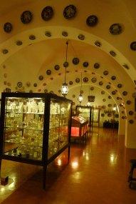 Sala de la col·lecció de vidre.