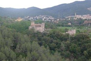 Castell de Clasquerí des de Castellar Vell.