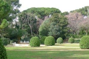 Un dels espais dels jardins.
