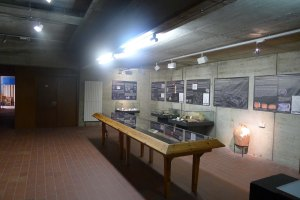 Exposició d'arqueologia.