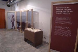Una part de l'exposició.