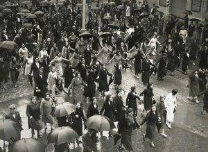 Manifestació antifeixista i per la llibertat, 1934. AFB. Pérez de Rozas.
