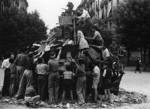 Revetlla de Sant Joan, 1939. AFB. Pérez de Rozas.