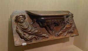 Misericordia del cadirat del cor de la catedral de Barcelona. MNAC.