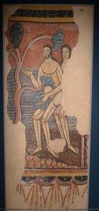 Pintures murals de sant Martí Sescorts. Segle XII. Museu de Vic.