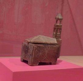 Salera litúrgica. Olot segles XIII-XIV. Museu de Vic.