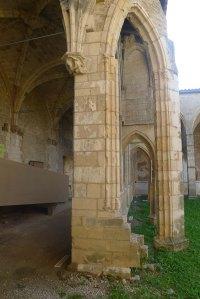 Detall del claustre.