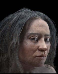 Reconstrucció forense del rostred'una barcelonina del neolític.