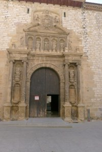 Façana de l'església de Sant Domènec.