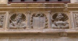 Jaume I i Violant d'Hongria al fris.